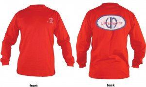 L/S T-shirt Classic UN Oval (red)