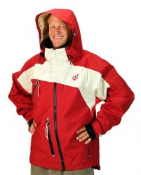 Snowkite Jacket (Red white and you!)