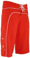 Long Boardshorts (red/white)