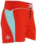 Short Boardshorts (red/aqua)
