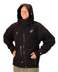 Snowkite Jacket (Clean Black)