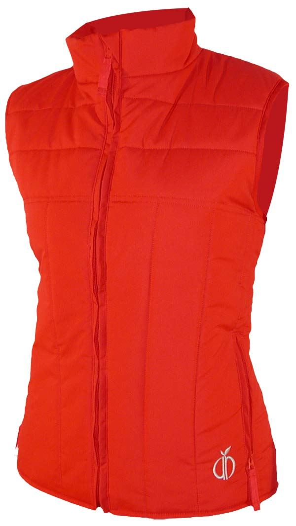 Quilted Vest (red)
