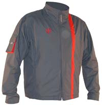 Gas Jacket (charcoal/red)