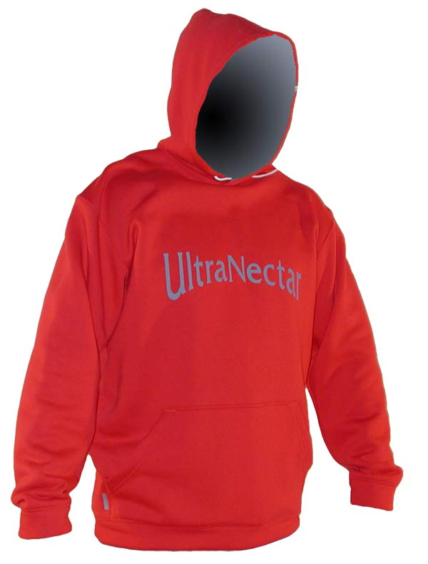 Hooded Sweatshirt (red)